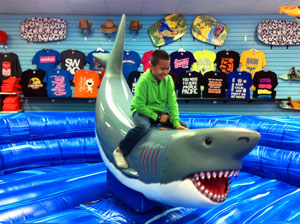 Sharky ride in Seaside