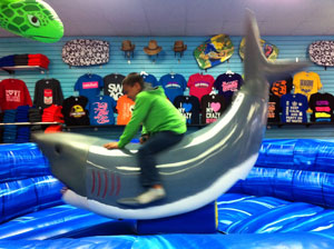 Sharky's ride in Seaside, OR